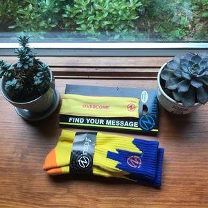 Inspyr bundle with socks and tie headband
